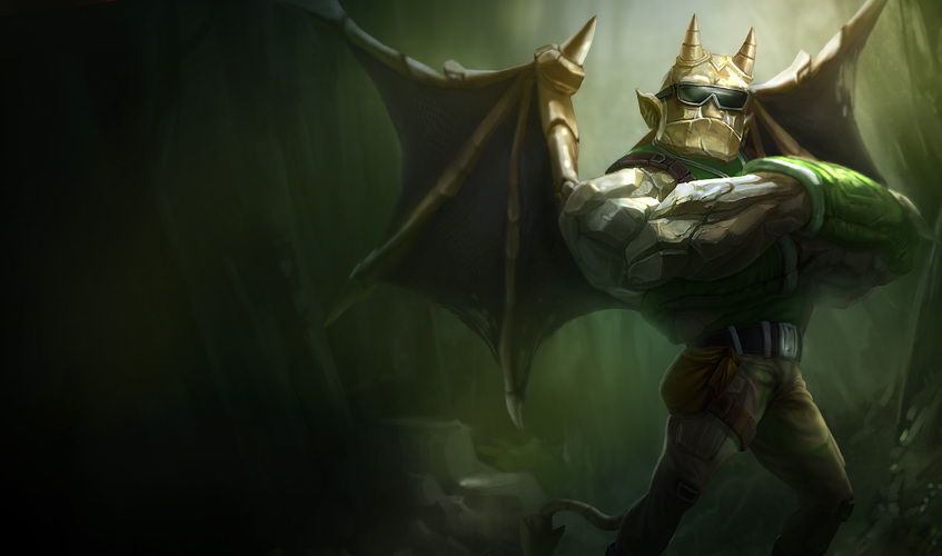 Waiting To Be Unleashed Galio The Sentinel 39 S Sorrow