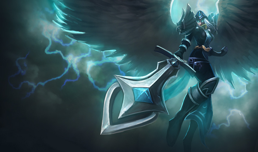 LoL Skins - Judgment Kayle