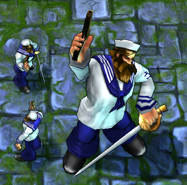 LoL Skins - Sailor Gangplank